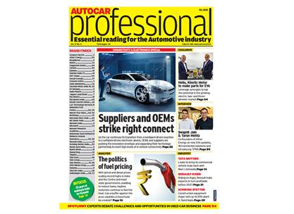 Autocar Professional's March 1 issue is all about connectivity