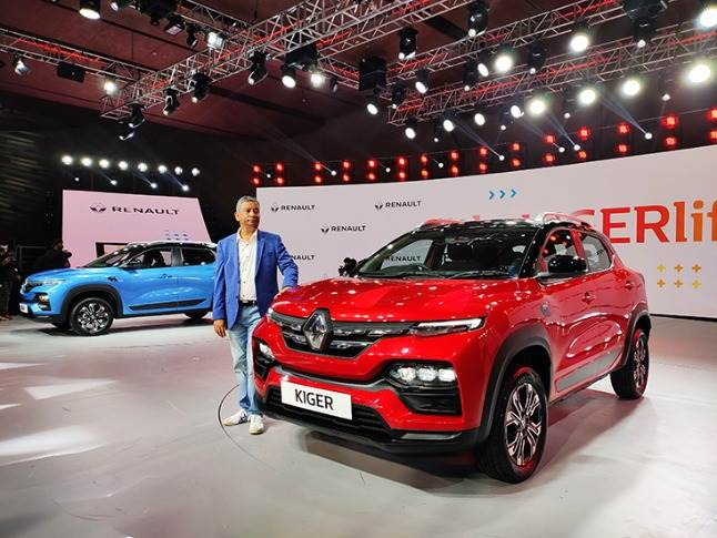 """Venkatram Mamilapalle: """"The B-SUV segment is the most affordable SUV segment in India that holds over 50 percent market share, and we are sure that we are going to take on the market with the Kiger."""""""