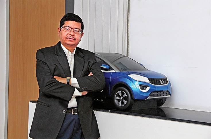 "Rajendra Petkar: ""At Tata Motors, our objective is to create best-in-class 'Make in India' products that offer global standards of design, safety, comfort and driveability."""