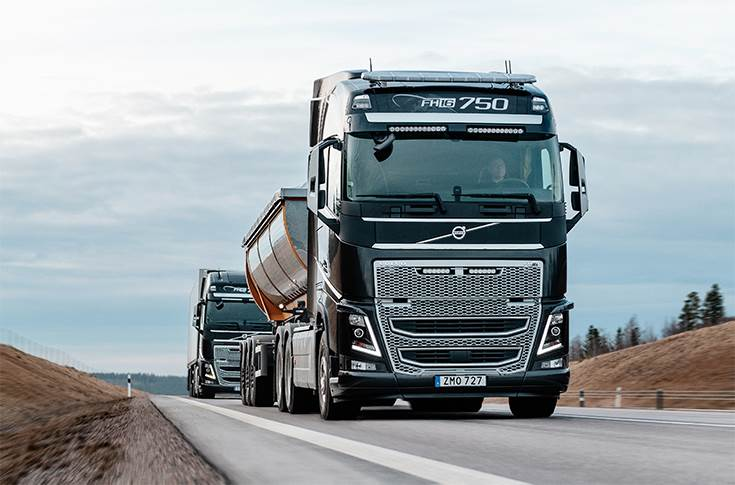 The new function is engineered to further improve safety for all road users and is yet another step towards Volvo Trucks' vision of zero accidents.