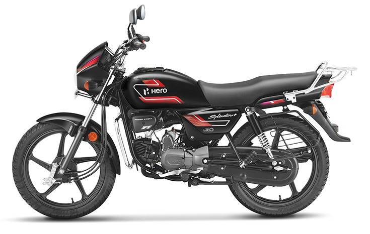 The all-black Splendor+, priced at Rs 64.470, was launched on October 19.