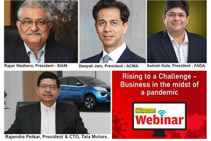 4x4 power: When the heads of three apex industry bodies in India and the president and CTO of a top automaker came together for Autocar Pro