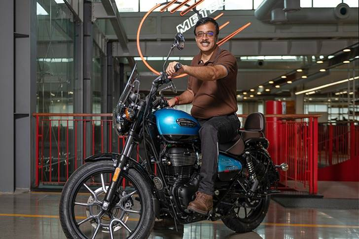 """Vinod Dasari, CEO, Royal Enfield.""""""""There will be around 500 different configurations to make the vehicle unique in the Make It Yours app."""""""
