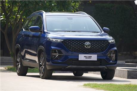 MG Motor India introduces 6-seat Hector Plus