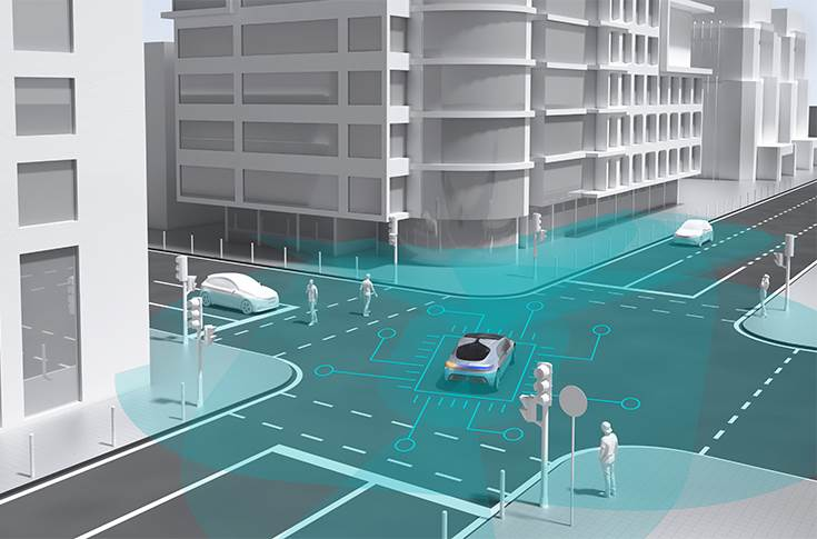 Automated driving in cities: Bosch and Daimler select Nvidia AI platform