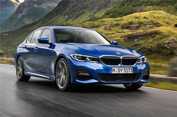 New 3 Series shares its platform with the 5 Series and 7 Series