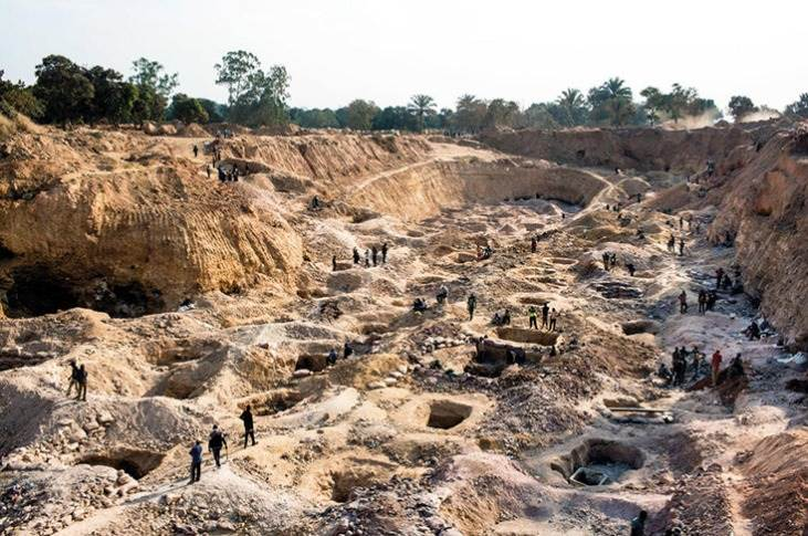 Mines in the Democratic Republic of the Congo are the leading source of the world's cobalt.