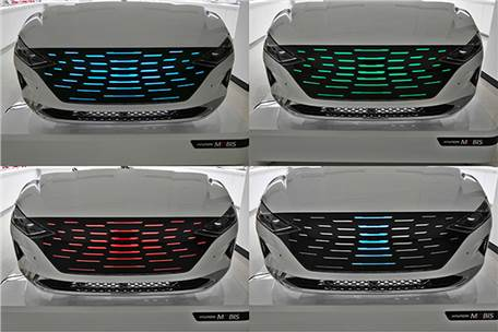 Hyundai Mobis develops new lighting and moving grille tech