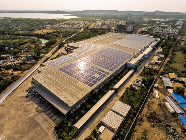 Solar Photovoltaic System at BMW Plant Chennai