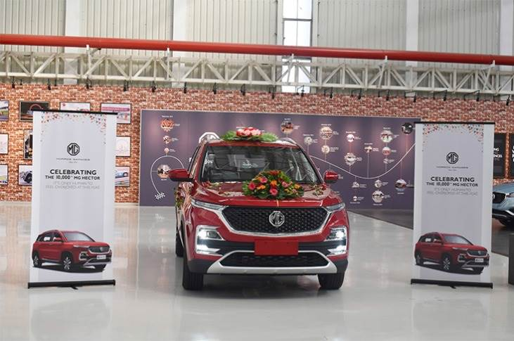 MG Motor India inaugurated its manufacturing facility in Halol, Gujarat in September 2017 and launched its SUV, the Hector, in end-June 2019.