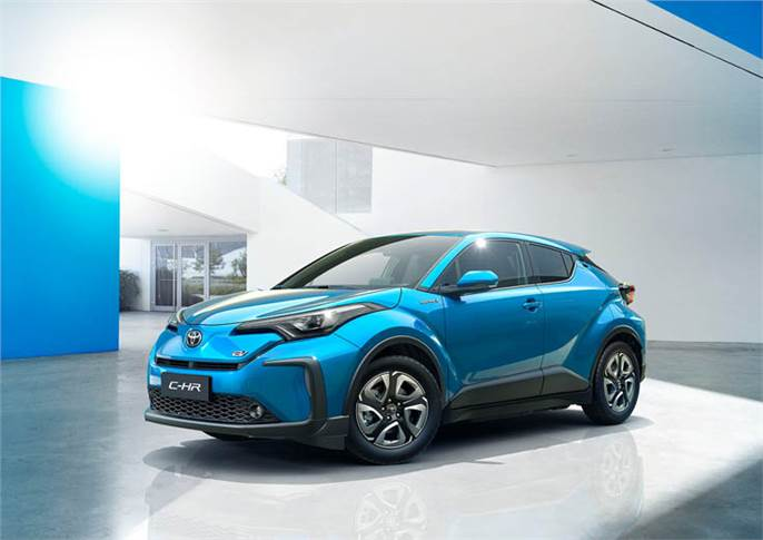The electrified C-HR  for China.