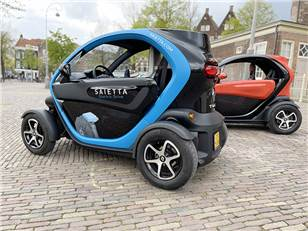Independent testing confirms Saietta's AFT 140 electric motor increases the range of a standard Renault Twizy by 10%.