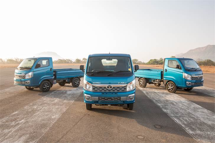 Tata Motors aims to carve out new market share for itself with the Intra compact truck in India