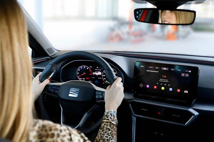 """Voice assistants are going to be a key element in the future of mobility,""says Anna Homs, SEAT engineer and Volkswagen Group Innovation Project Manager."