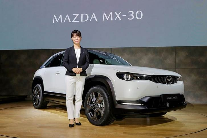 Tomiko Takeuchi is Mazda