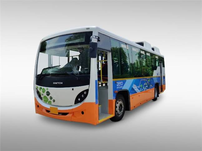 Full-electric 9.4-metre bus (32-37 seats) can cover 200–300km in a day with an opportunity charging for 45 minutes to 1 hour.