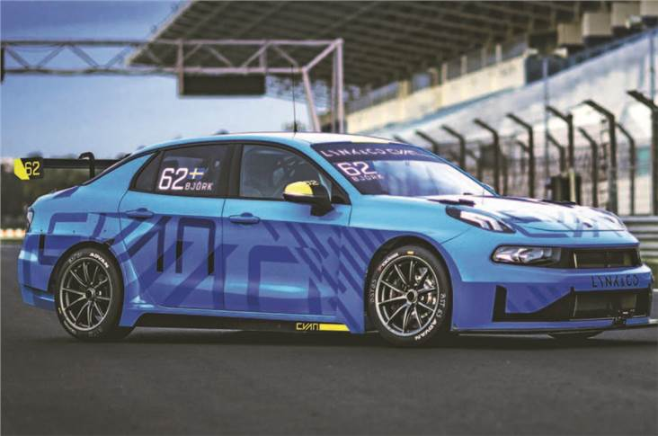 Touring car racing has been used to showcase Lynk&Co and Polestar