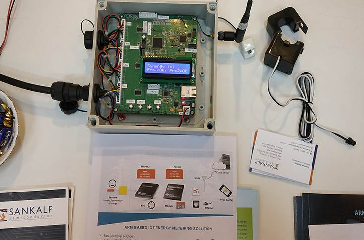 Arm-based IoT energy metering solution from Sankalp Semiconductor