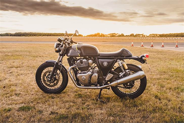 The Royal Enfield Continental GT 650.