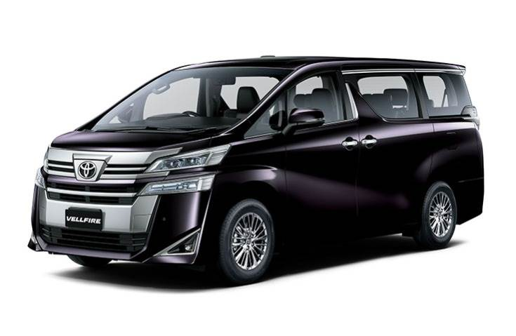 Vellfire is Toyota's flagship MPV – it is 4,935mm long, 1,850mm wide and 1,895mm high, but the highlight is the huge 3,000mm wheelbase.