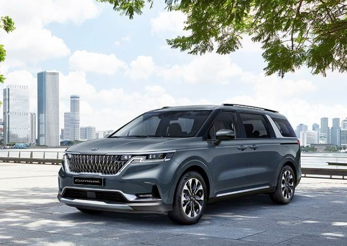 Kia is also bullish on sale of the new, fourth-generation Kia Carnival MPV (sold as Sedona in some markets).
