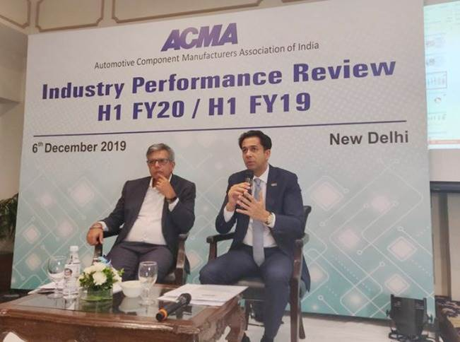 """Deepak Jain, president, ACMA: """"It has been a prolonged slowdown. Although domestic industry revenue is down, aligned with performance of vehicle OEMs, we have seen a stable aftermarket and exports."""""""