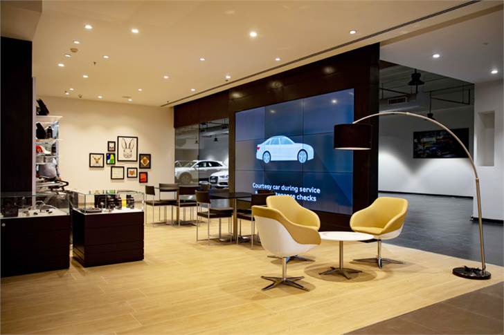 Audi India has introduced a new era of digital retail operations with the Audi Gurugram showroom.