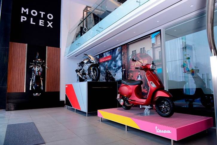 Piaggio Vehicles plans to set up 100 new Motoplex dealerships in India this year, expanding the network to 350.
