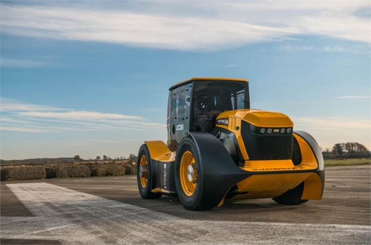 As tractors go, the JCB Fastrac Two is in a league of its own