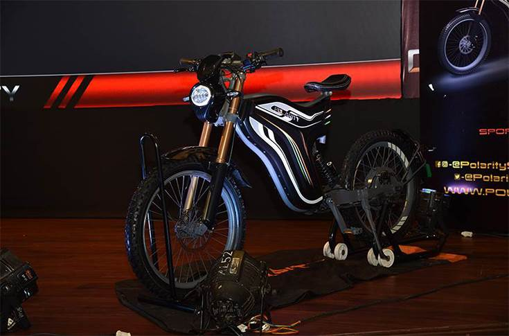 Polarity Sports series electric two-wheeler