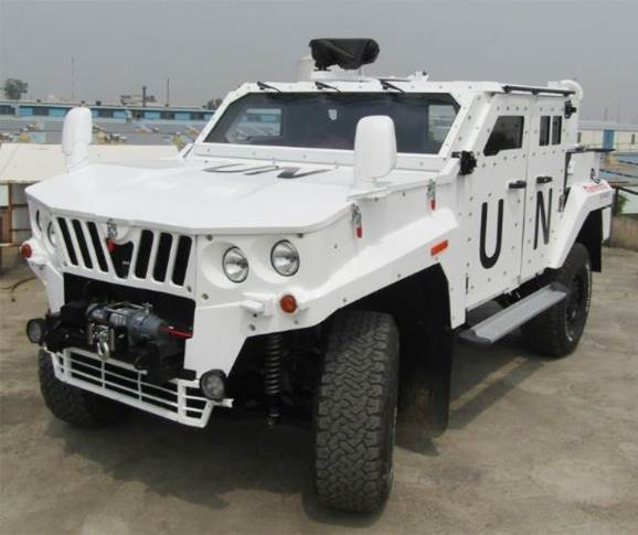 One version of the MDS LSV is already in service with Indian Battalion deployed in UN Peacekeeping mission in Africa