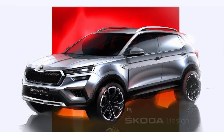 Skoda is to have the world premiere of the Skoda Kushaq in India on March 18.