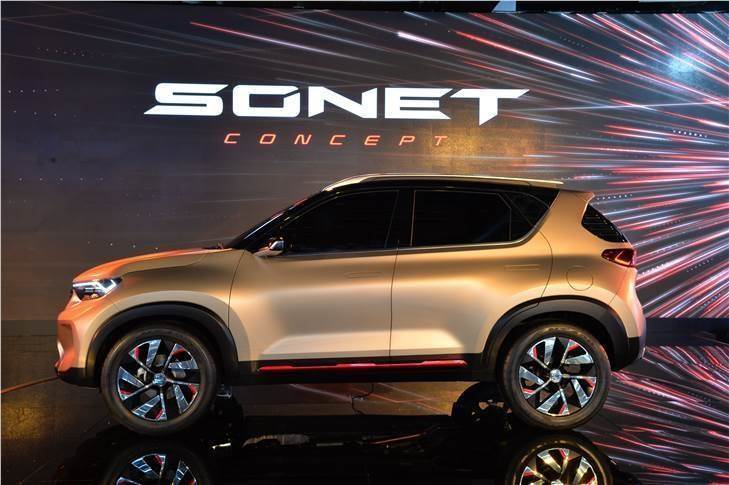 Around August 2020, Kia will launch its third model, the Sonet compact SUV. The tech-laden Hyundai Venue and Maruti Vitara Brezza fighter, available with a wide variety of powertrains, is expected to carry a sticker price of Rs 700,000-11.5 lakh.