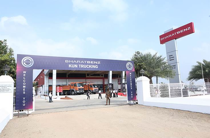 BharatBenz inaugurates new dealership in Villupuram