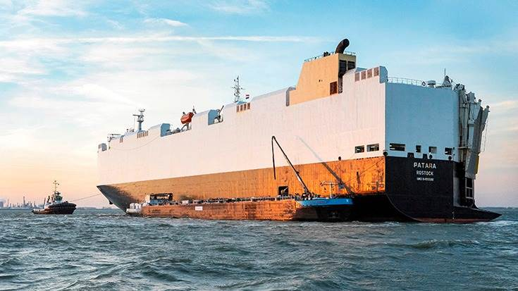 For European shipments, Volkswagen Group Logistics charters two vessels which carry up to 3,500 vehicles about 50 times per year & 250,000 new vehicles of the Audi, Seat, Skoda, VW and VW CV brands.