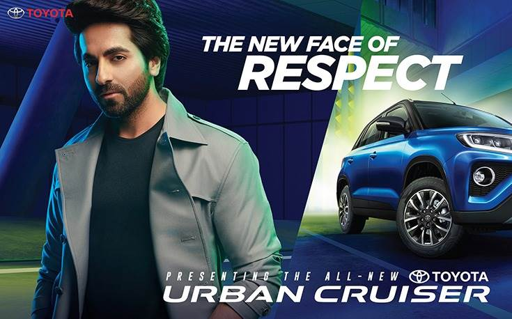 In an effort to attract young urban Indians, TKM chose  actor Ayushmann Khurrana  as its brand ambassador for the Urban Cruiser SUV.