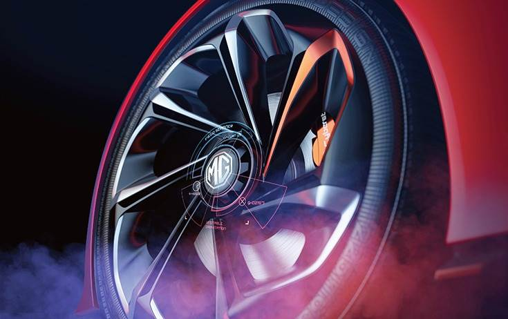 The wheels are claimed to have rotating spokes-akin performance and luxury saloons, and will be combined with a central-locking mechanism.