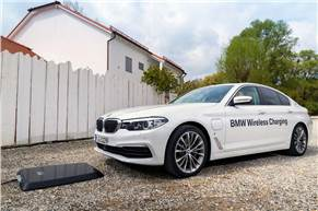 BMW briefly offered wireless charging as an option in Germany