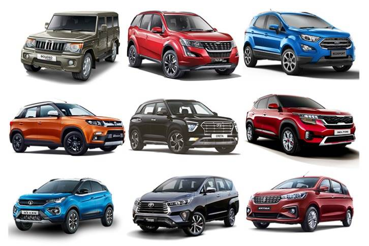Some of the popular models that have helped power the SUV sales drive in the Indian market.