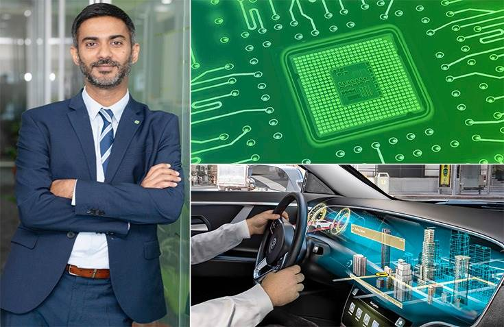 """Satish Sundaresan, VP and MD, Elektrobit India: """"The lockdowns last year meant people weren't buying cars, pushing auto companies to significantly revise their production plans. Chip makers had to realign their existing stock (to other industries)."""""""