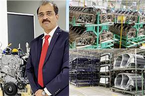 """Biju Balendran, MD, RNAIPL: """"Around 3,912 parts including seats, mufflers and steel parts are currently exported. We also export stamping parts to Egypt and Russia and bumpers to Egypt."""""""