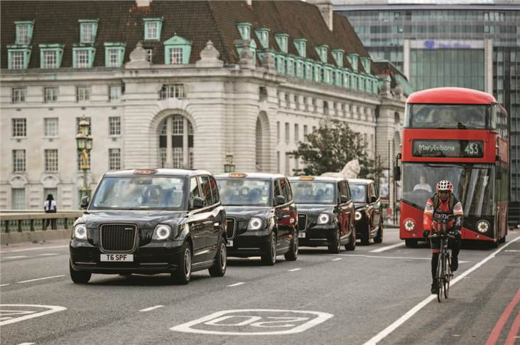 Geely is electrifying London's taxi fleet with the LEVC TX cab