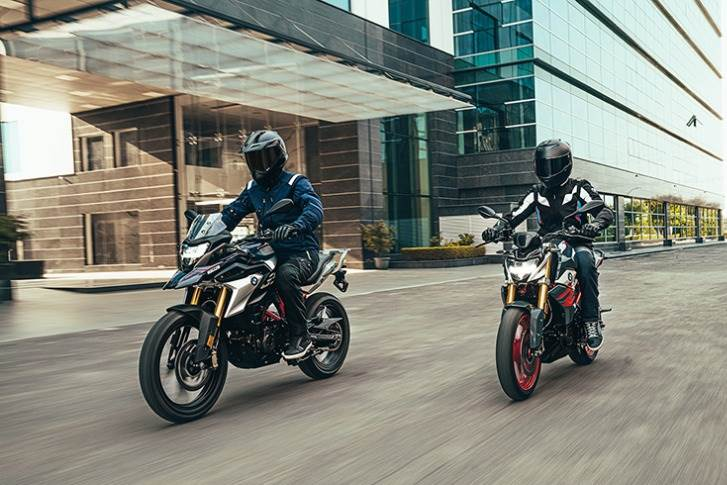 While the mildly facelifted 2020 BS VI G 310 R is priced at Rs 245,000, the G 310 GS costs Rs 284,000; BMW India Financial Services is offering easy finance – an EMI of Rs 4,500.