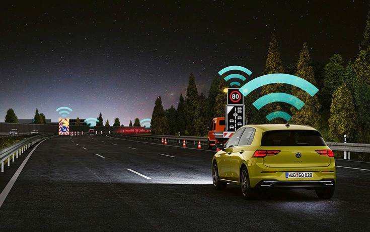 Local Hazard Warning uses an automotive, optimised variant of WLAN tech known as