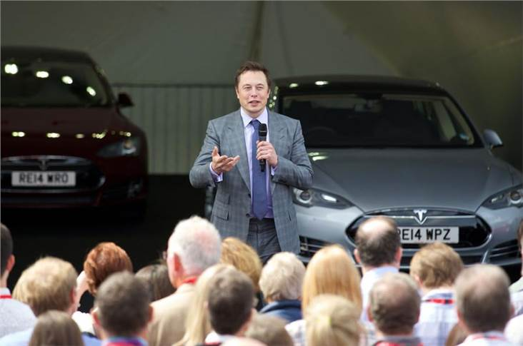 Elon Musk announced heavy profits on the back of the impending launch of model Y