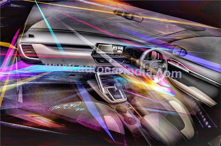 Kia has confirmed that its SUV will come with multi-colour LED mood lighting that can be adjusted via the infotainment system.