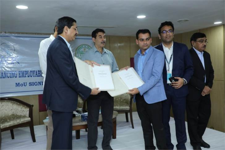 The MoU was signed between HERE Technologies and Telangana Academy for Skill and Knowledge (TASK), a state government entity.