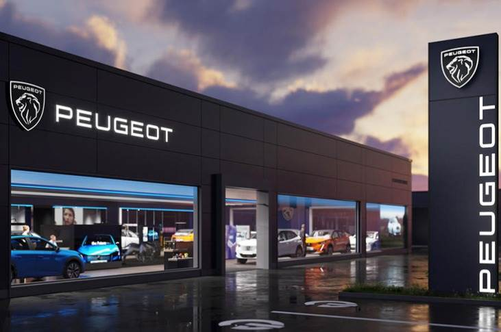 By end-2023, all dealer sites will be completely rebranded. It is the 11th logo to be used by Peugeot since 1850 and will be rolled out as part of its transition to electrification.