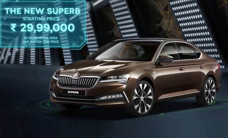 Skoda has launched the Superb facelift in two trim levels, with prices starting at Rs 29.99 lakh.