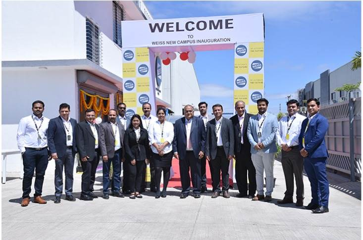 Weiss Automation Solutions inaugurated its new campus in Pune.